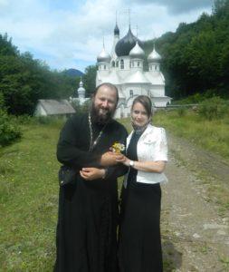 Отец Иоанн и матушка Наталья